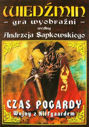 czas pogardy, wojny z nilfgaardem, okładka