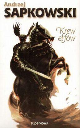 krew elfów, okładka