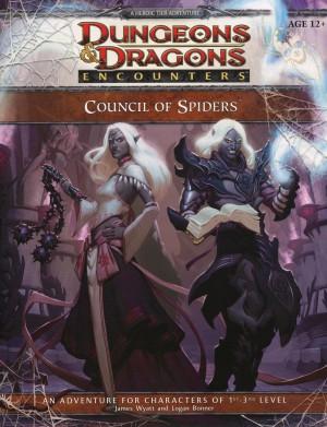 council of spiders, okładka