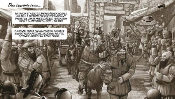 rachunek sumienia, saskia, wiedźmin komiks