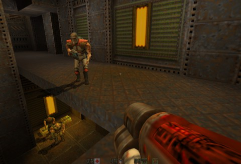quake 2, screen