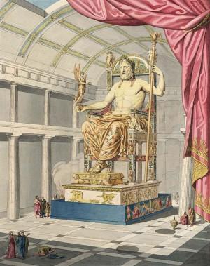 zeus, posąg zeusa