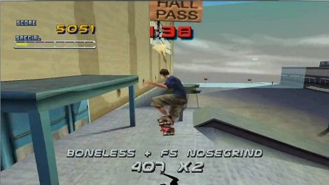 tony hawk, screen