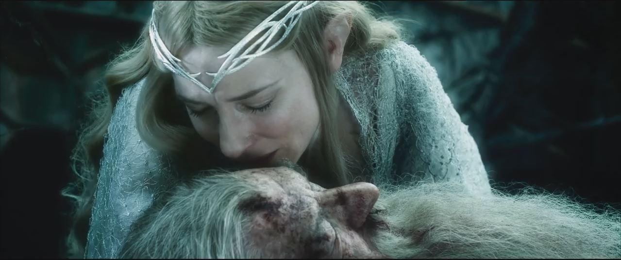 Galadriela i Gandalfa połączyli się