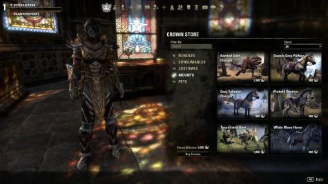 the elder scrolls online, crown store, zenimax online
