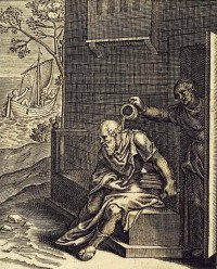 ksantypa, sokrates, otto van veen, 1607