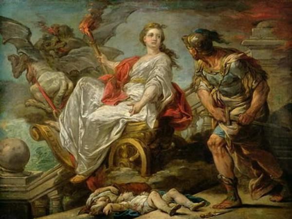medea, jazon, charles andre van loo, 1759