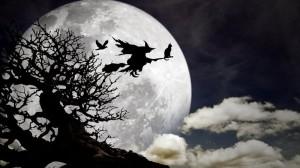 czarownica na miotle