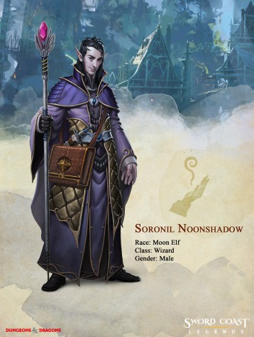 soronil noonshadow, sword coast legends