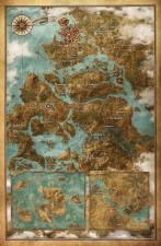 wiedźmin 3, dziki gon, the witcher 3, mapa świata