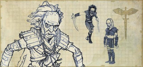 sword coast legends, izhkin