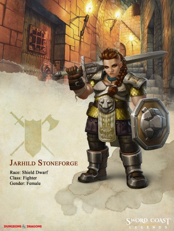 sword coast legends, jarhild stoneforge