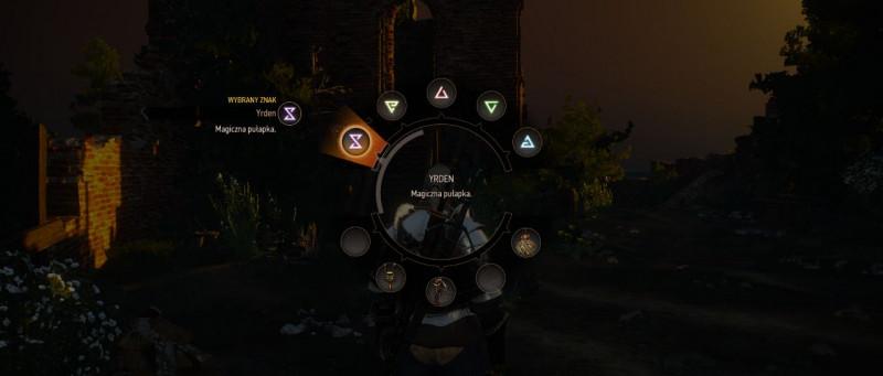 znaki, znaki wiedzmin 3, signs witcher 3