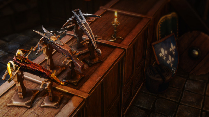 zestaw wybornych kusz, elite crossboe set witcher 3, wiedzmin 3