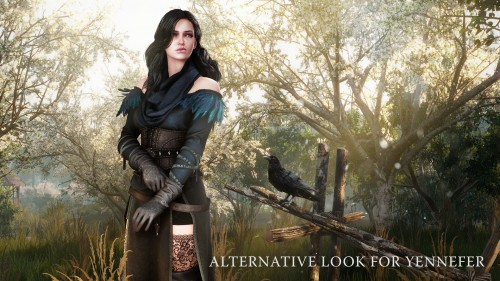 yennefer, alternative yennefer outfit