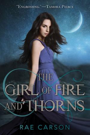 dziewczyna ognia i cierni, okładka