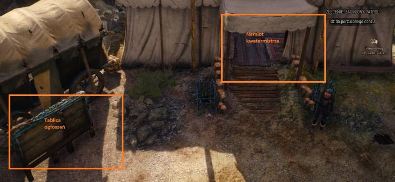 zaginiony patrol, wiedźmin 3, wiedźmin 3 zlecenia