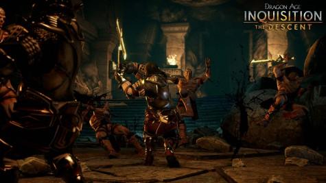 dragon age: inkwizycja, zstąpienie