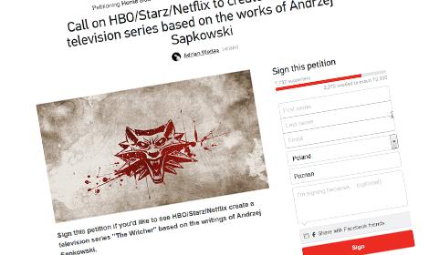 wiedźmin, serial, petycja