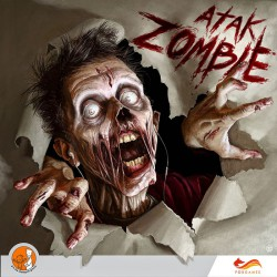 atak zombie, okładka