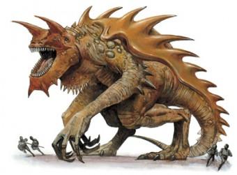 tarrasque, dungeons&dragons, d&d, d'n'd