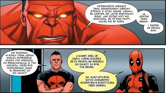 thunderbolts, czerwony postrach, marvel, komiks