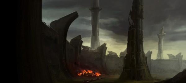 tyranny, wieże