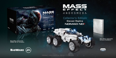 mass effect: andromeda, edycja kolekcjonerska