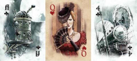 talia kart, trefl, excellence, steampunk