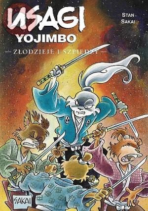 usagi yojimbo 30: złodzieje i szpiedzy