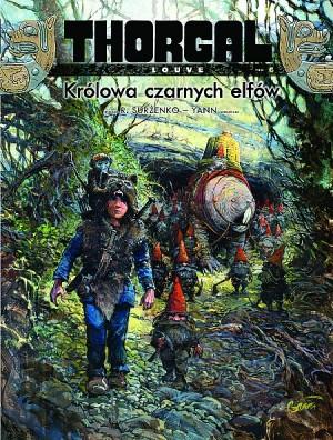 thorgal – louve,królowa czarnych elfów,thorgal