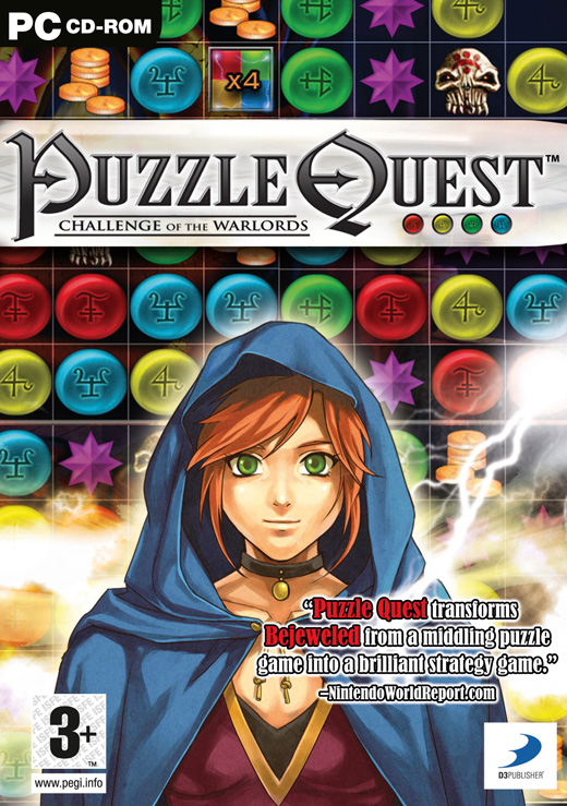 Recenzja Puzzle Quest Challenge Of The Warlords