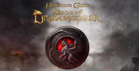 okładka, baldur's gate: siege of dragonspear