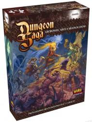 dungeon saga grobowiec króla krasnoludów, okładka