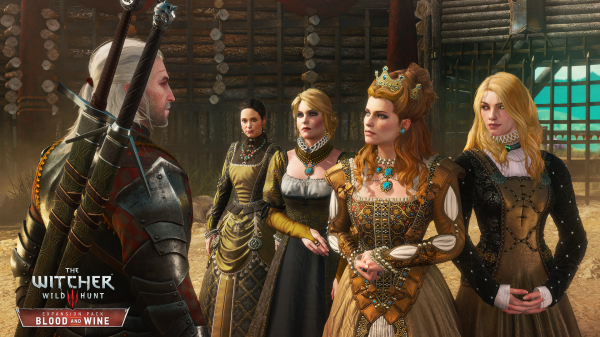wiedźmin, krew i wino, witcher, blood and wine