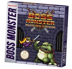 boss monster niezbędnik bohatera, okładka
