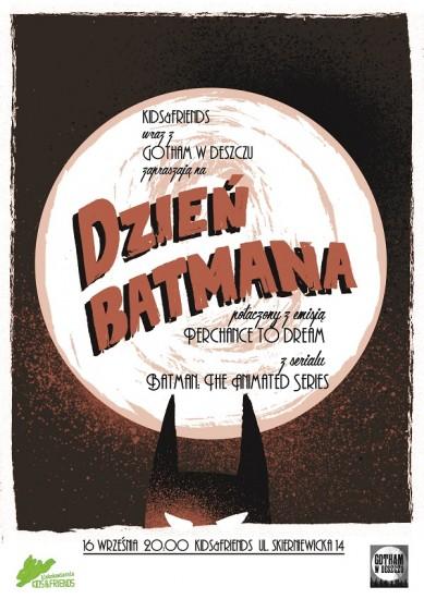 batman the animated series, prelekcja, światowy dzień batmana, michał chudoliński