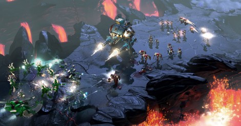 warhammer 40, 000, dawn of war, relic entertainment