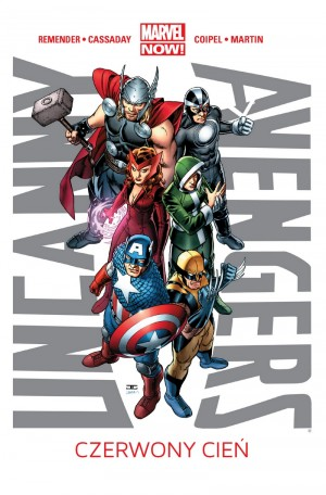 uncanny avengers, czerwony cień