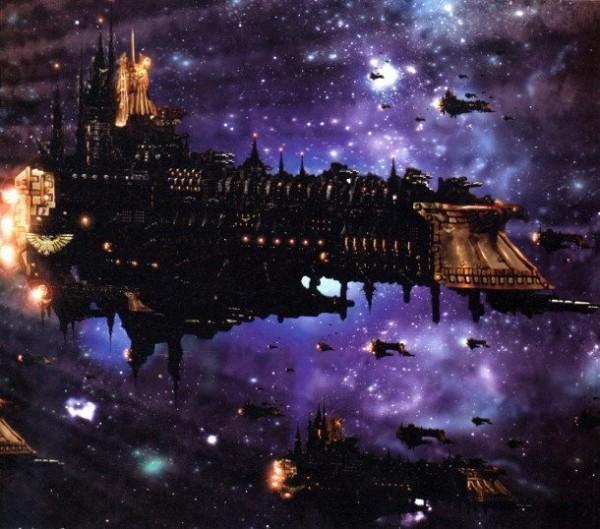 podróże kosmiczne w mrocznej przyszłości
