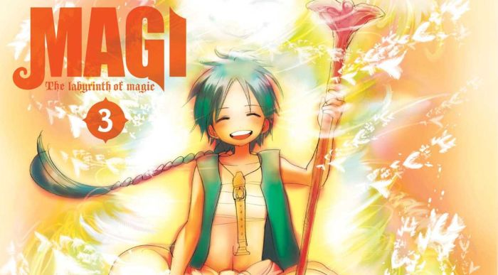 magi: labyrinth of magic #3