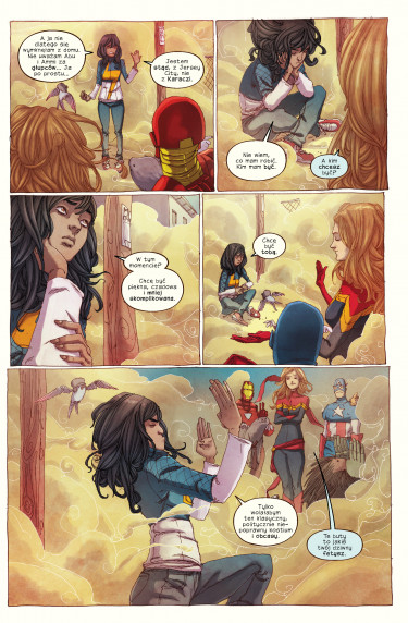 Miss Marvel,Niezwykła