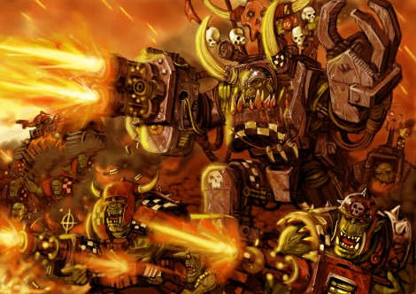 orkowie,warhammer 40.000,dawn of war 3,warhammer 40000: dawn of war 3