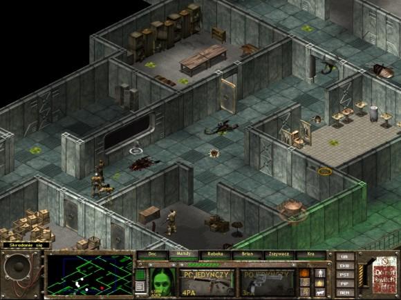 fallout tactics,preoria,wieżyczka