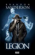 wydawnictwo mag,brandon sanderson,legion