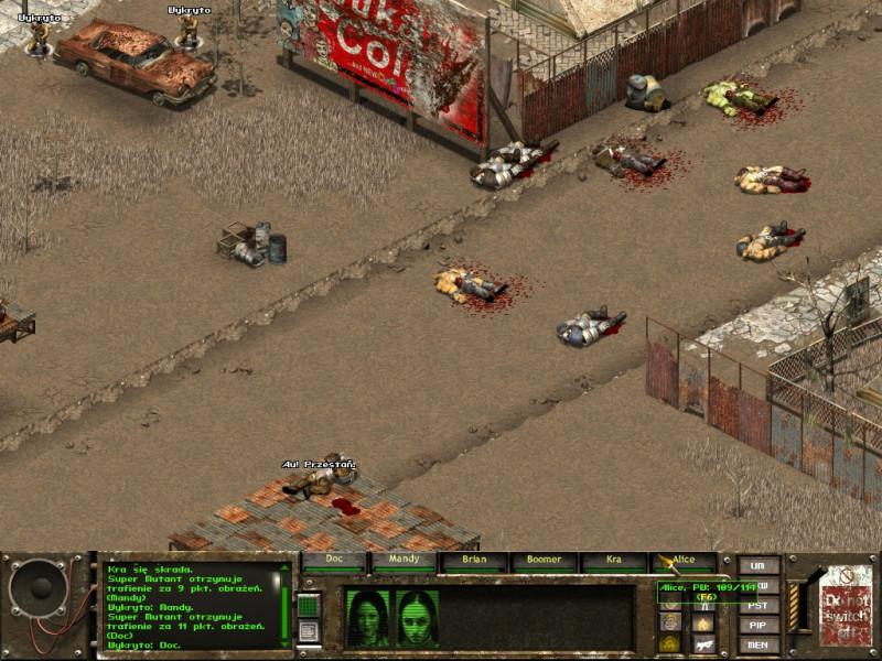 fallout tactics,kansas city,platforma
