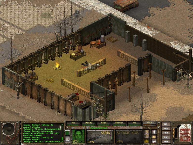 fallout tactics,kansas city,dowódca