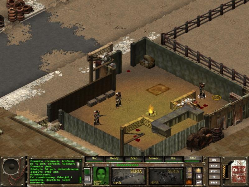 fallout tactics,kansas city,dowódca ost