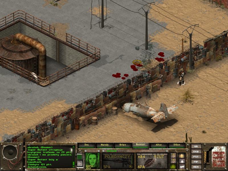 fallout tactics,osceolla,granat