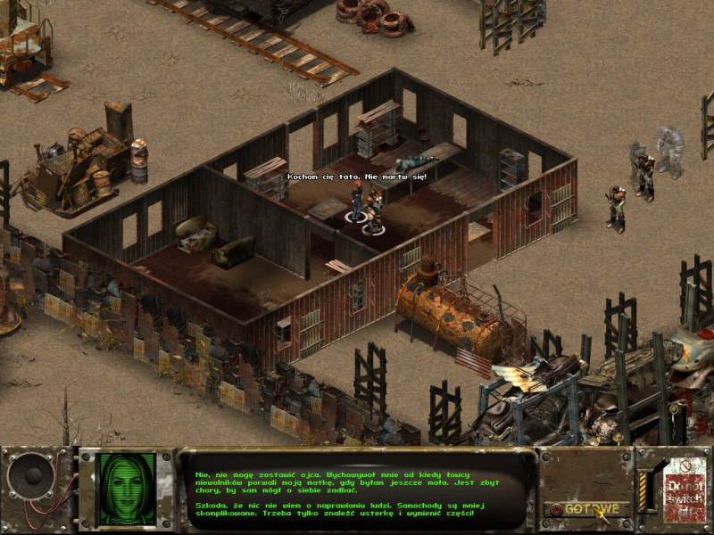 fallout tactics,junction city,mechanik